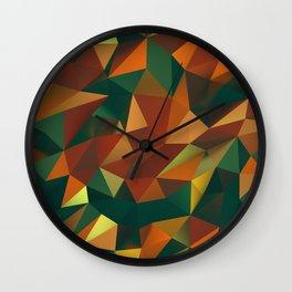 Polygonal Jammer Wall Clock