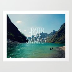 I Lake It Art Print