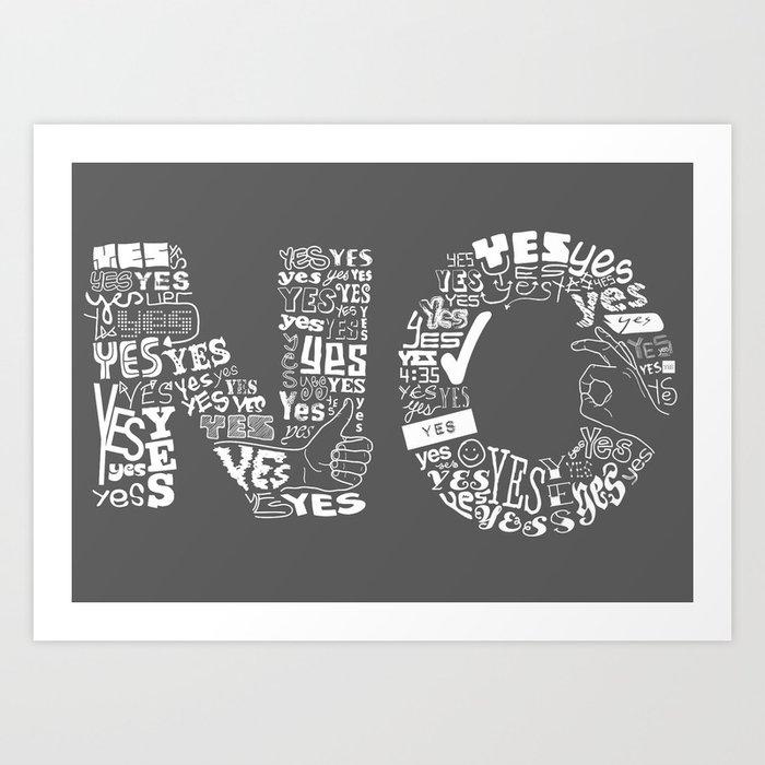 Mixed Messages Art Print
