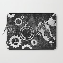 Tattoo-Inspired Background Laptop Sleeve