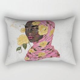 Floral Arrangements: Peony Rectangular Pillow