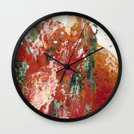 Desert Rust Wall Clock