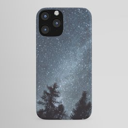 Milky Way in the Woods | Nature and Landscape Photography iPhone Case