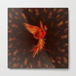 Phoenix Rising - #1 Metal Print