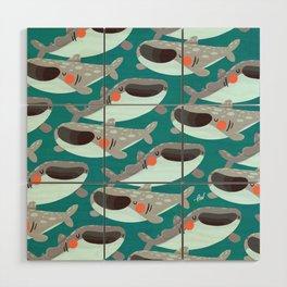 Whale Shark Wood Wall Art