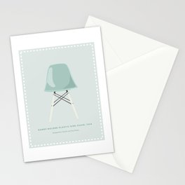 Mid-Century Molded Plastic Chair Stationery Cards