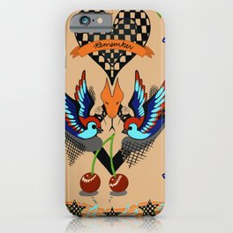 Rockabilly lullaby iPhone Case