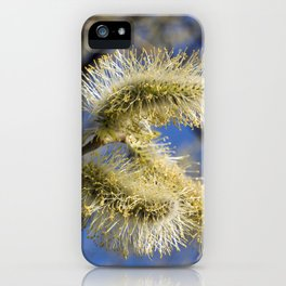 WILLOW CATKINS  iPhone Case