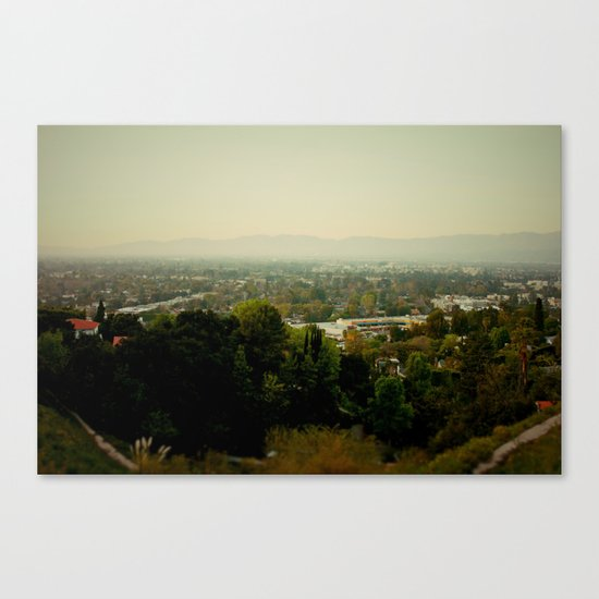 City Capture Canvas Print