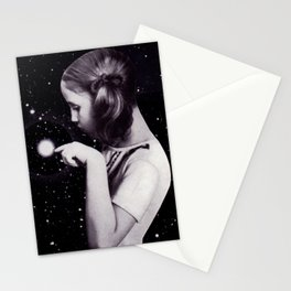 stars are delicate Stationery Cards