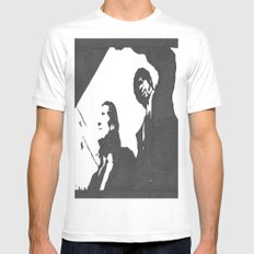 we should have shotguns White Mens Fitted Tee MEDIUM