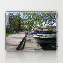 Tour Boats Lining Dalyan River Laptop & iPad Skin