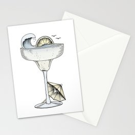 Summer Cocktail Stationery Cards
