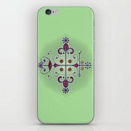 Voodoo Symbol Papa Legba iPhone Skin