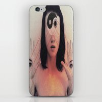 third eye iPhone & iPod Skins featuring Third Eye by Isaak_Rodriguez