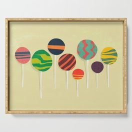 Sweet lollipop Serving Tray