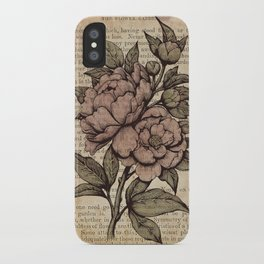 Peonies  - Color iPhone Case