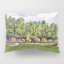 Pinehurst Golf Course No2 Hole 17 Pillow Sham