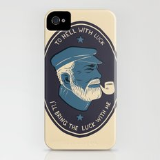 To Hell With Luck! Slim Case iPhone (4, 4s)