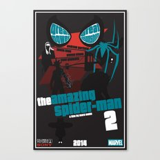 Amazing Spider-man 2 Poster Canvas Print