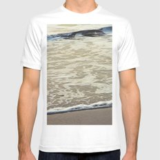 Touch the Sea MEDIUM Mens Fitted Tee White