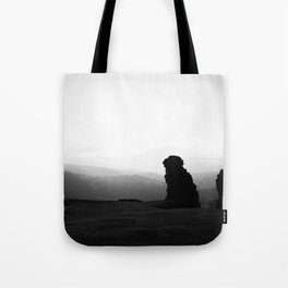 Night To Fall Black & White Tote Bag