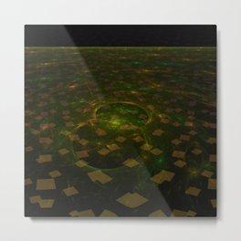 Squares on sky Metal Print
