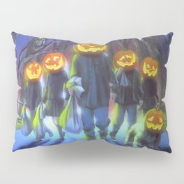Attack of the Jack-O-Lanterns Pillow Sham