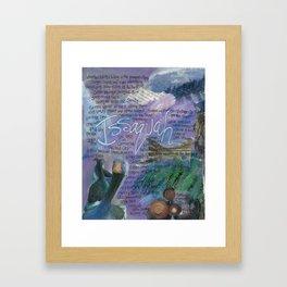 Issaquah Washington...Mixed Media Art by Seattle Artist Mary Klump Framed Art Print