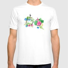 All Was Well MEDIUM Mens Fitted Tee White