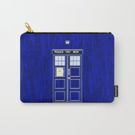 Tardis Art Blue Phone Both Carry-All Pouch