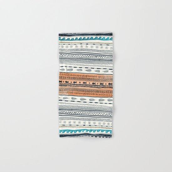 Beach Aztec Hand & Bath Towel