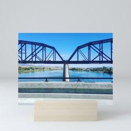 Think Bridge Mini Art Print