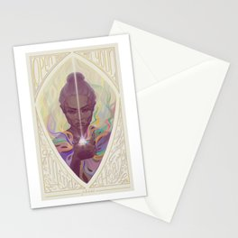Let the light in Stationery Cards
