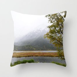 Season's First Snow II Throw Pillow