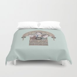 Carry On My Wayward Son (Castiel, Sam and Dean Winchester) Duvet Cover
