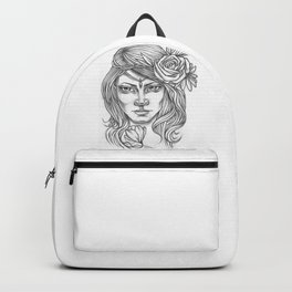 Mysterious Girl Backpack