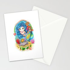 The Mermaid Stationery Cards