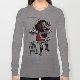 The Pied Piper Ian Anderson Jethro Tull Long Sleeve T-shirt