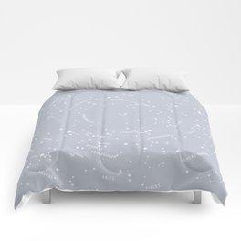 Constellation Map - Gray Comforters