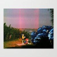 ponyo Canvas Prints featuring Ponyo & Sosuke (Ponyo) (St.petersburg FL) by Jackobi Austin