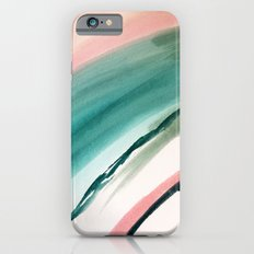 Lovely [2] - a bright mixed media abstract piece iPhone 6s Slim Case