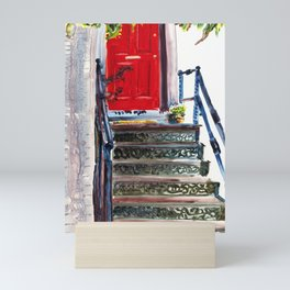 Red Door Mini Art Print