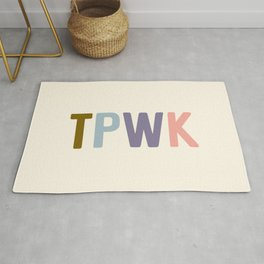 TPWK, Treat People With Kindness Rug