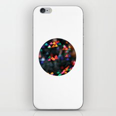 Valentine Love Heart Bokeh circle print iPhone & iPod Skin