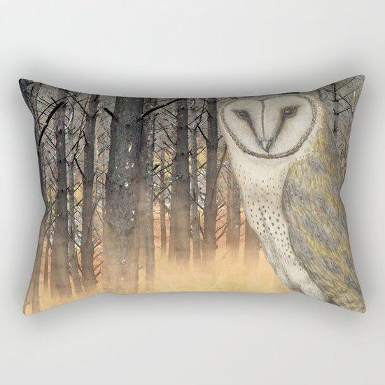 When the shadows eat the moon Rectangular Pillow