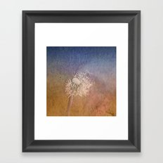 Time to seed II Framed Art Print