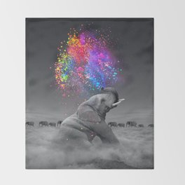 True Colors Within Throw Blanket