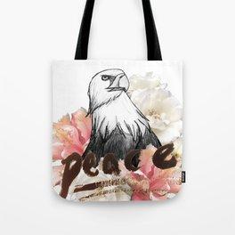Peace Wreath Tote Bag