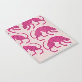 Wild Cats - Pink Notebook